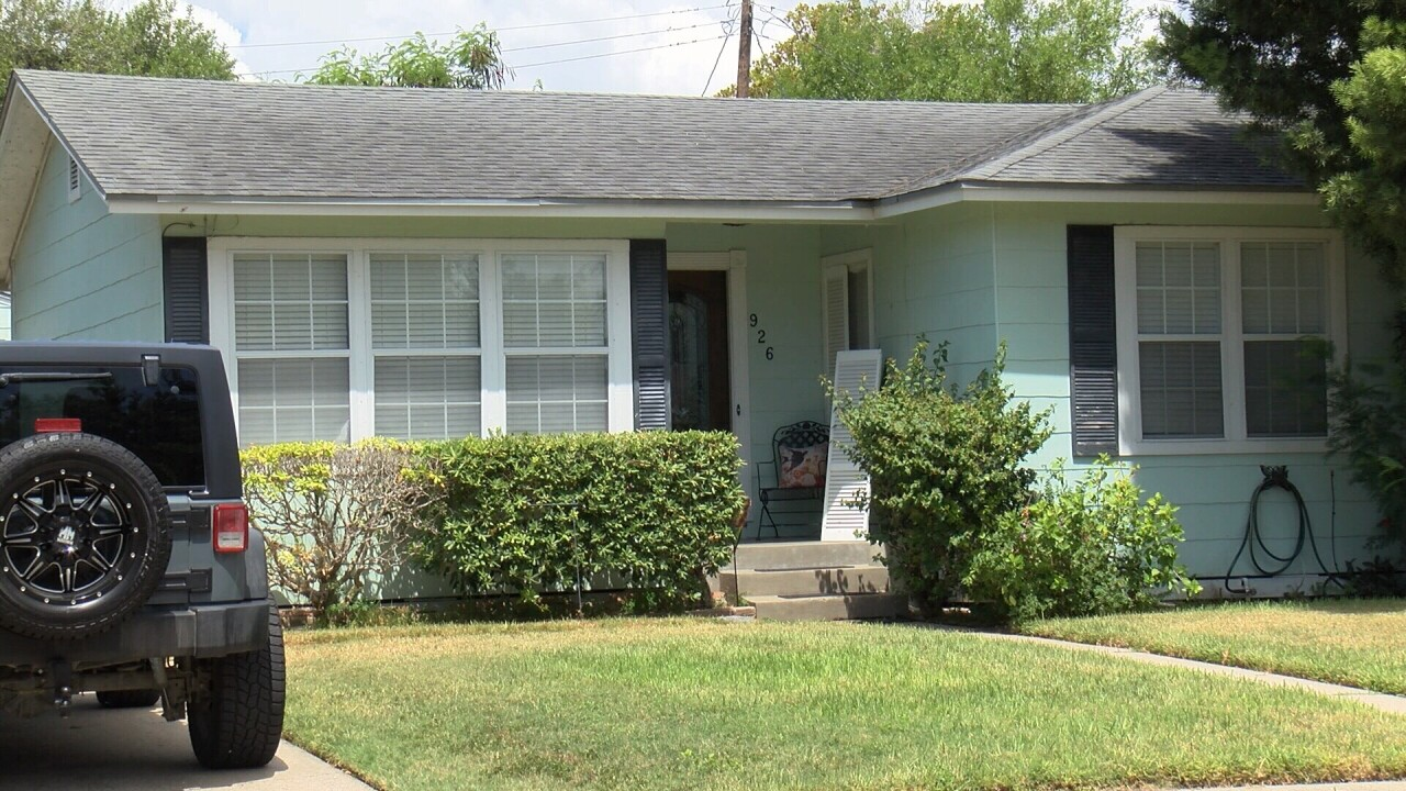 Farrah Fawcett's childhood home