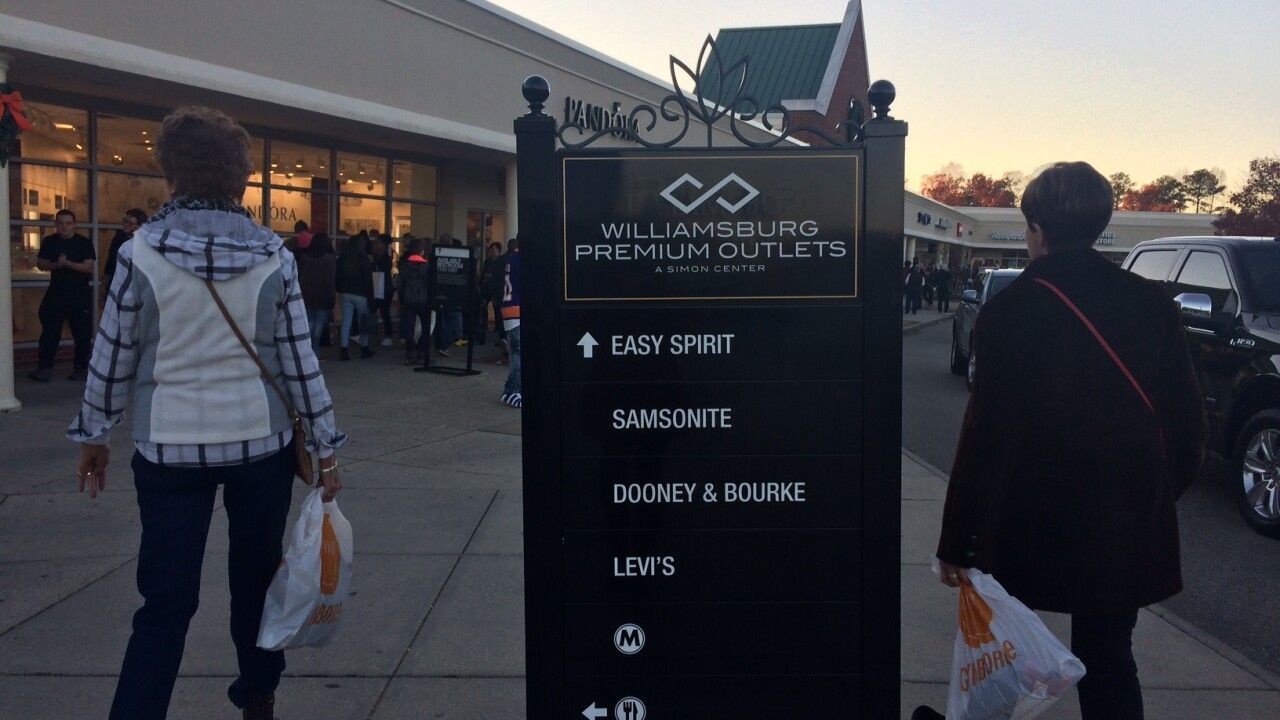 Say goodbye to summer, hello to savings with Williamsburg Premium Outlets' Labor Day Sidewalk Sale