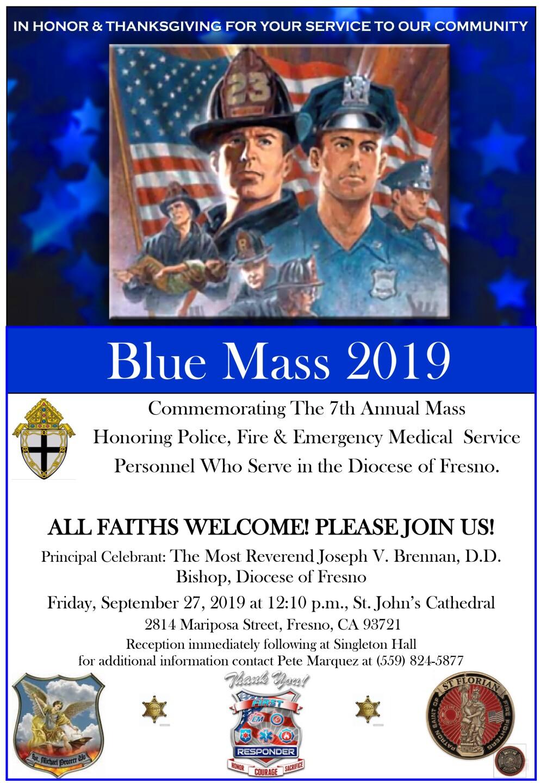 Blue Mass Flyer