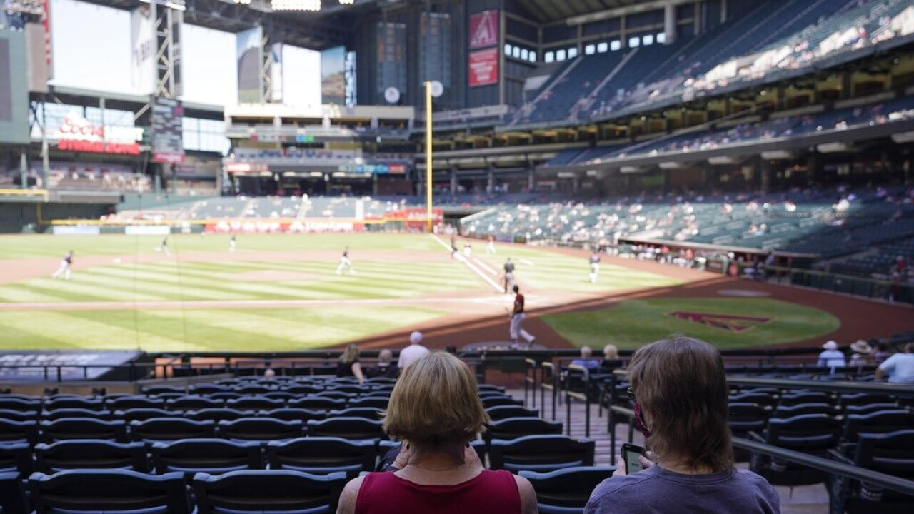 Dbacks Spring Baseball Chase Field - AP Photo