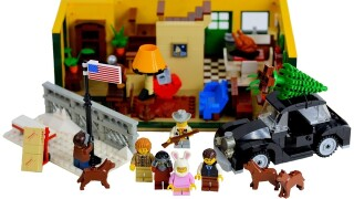 A Lego set based off of 'A Christmas Story'? Bring on the nostalgia