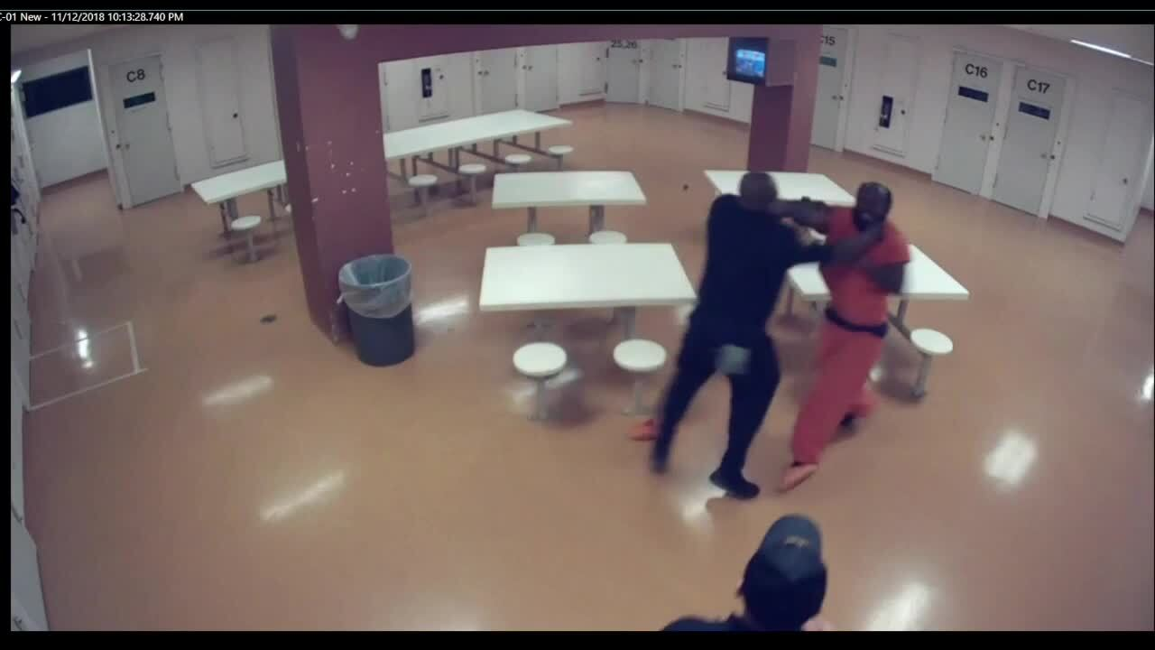 Excessive force at Cuyahoga County Jail