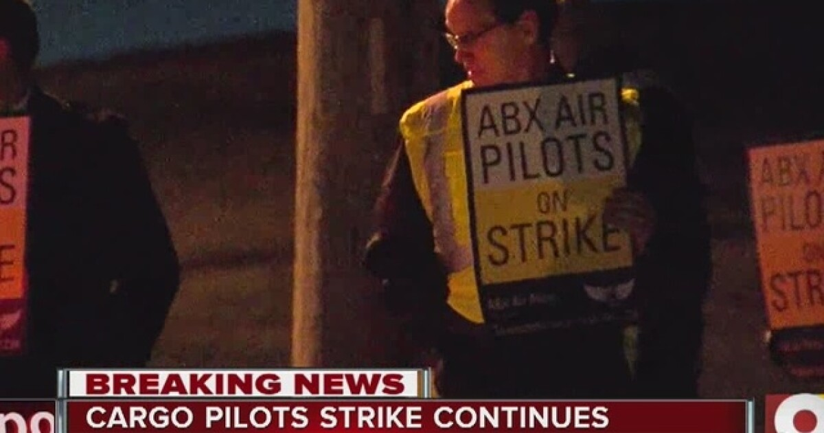 Judge orders striking ABX Air cargo pilots back to work