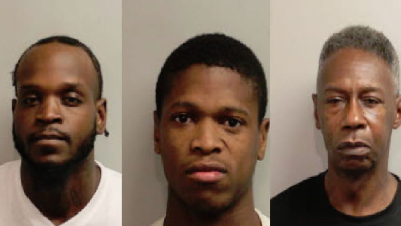 Three men arrested after selling drugs to undercover