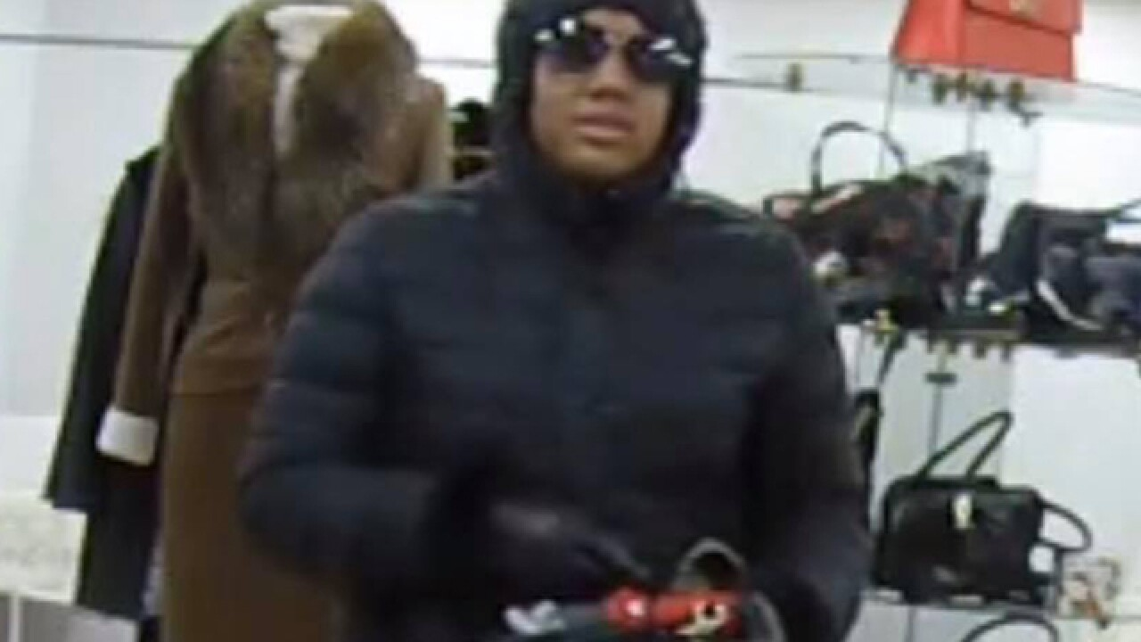 Woman robs Woodmere business with long gun