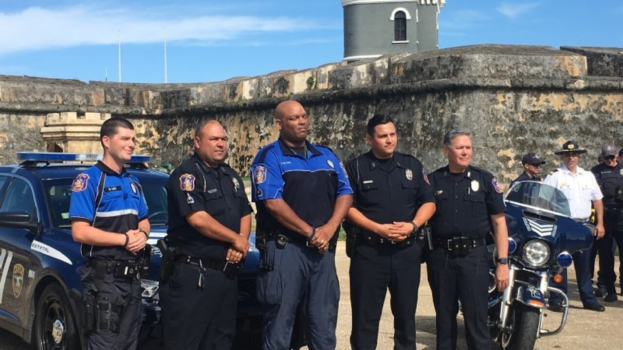 Hampton Police officers return from providing aide in hurricane-ravaged PuertoRico
