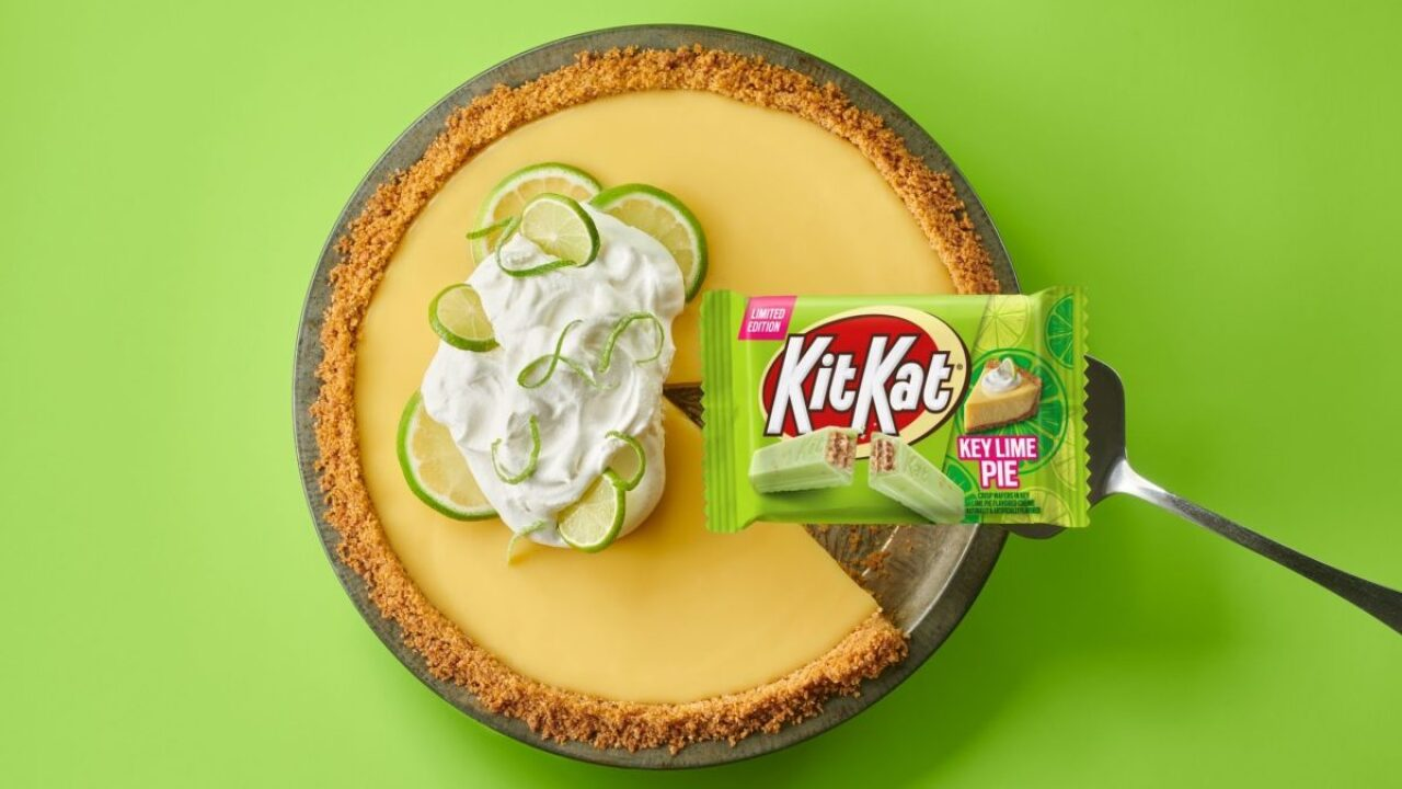 Key Lime Pie Kit Kats Hit Stores