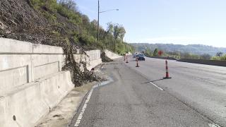 Columbia Parkway landslides