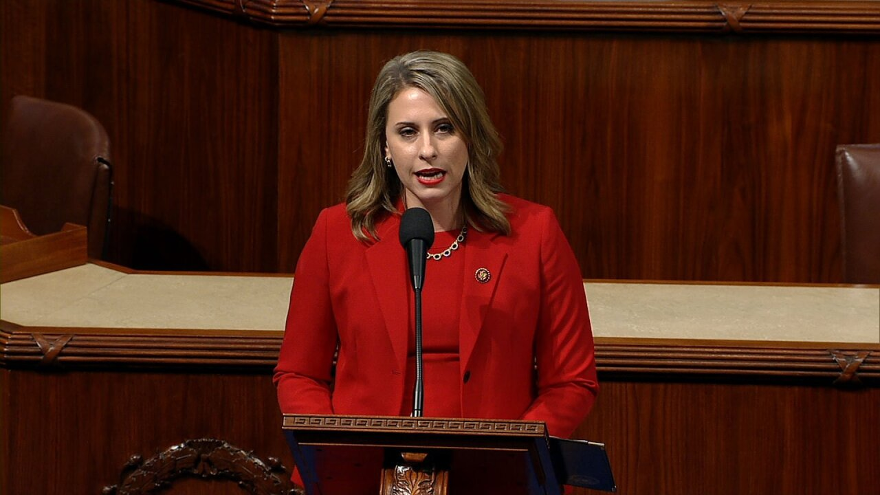 California Rep. Katie Hill 'leaving now because of a double standard,' she says in final House floor remarks