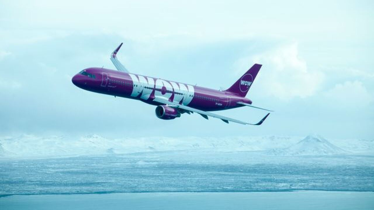 WOW air offering cheap flights from Detroit to Iceland, Europe through December