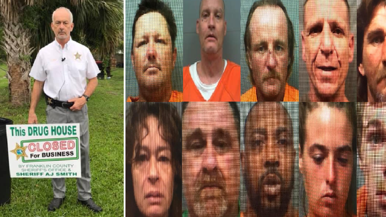 12 people arrested in Franklin County during 'Operation Ice