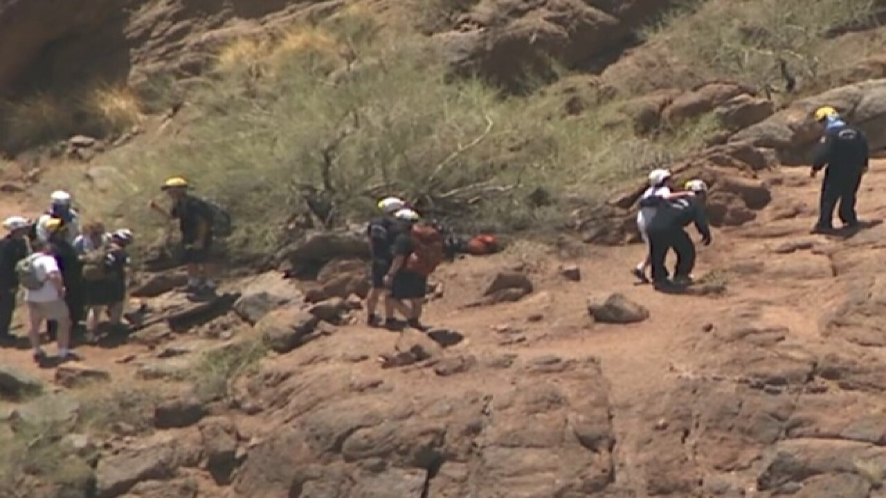 People rescued from Echo Canyon including 12 yo