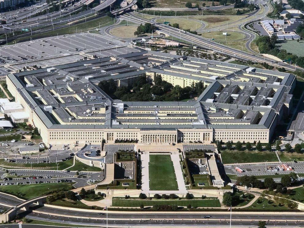 An aerial view of the Pentagon building photographed on Sept. 24, 2017. Bill Clark/CQ Roll Call, FILE