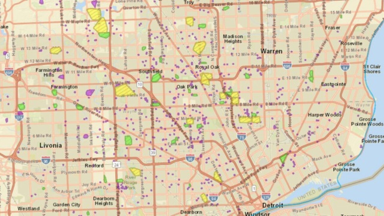 DTE Energy: 62K people without power in metro Detroit on