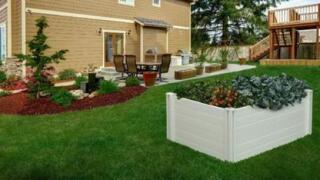 Menards Home Improvement Topic: Create a raised garden bed for vegetables or flowers