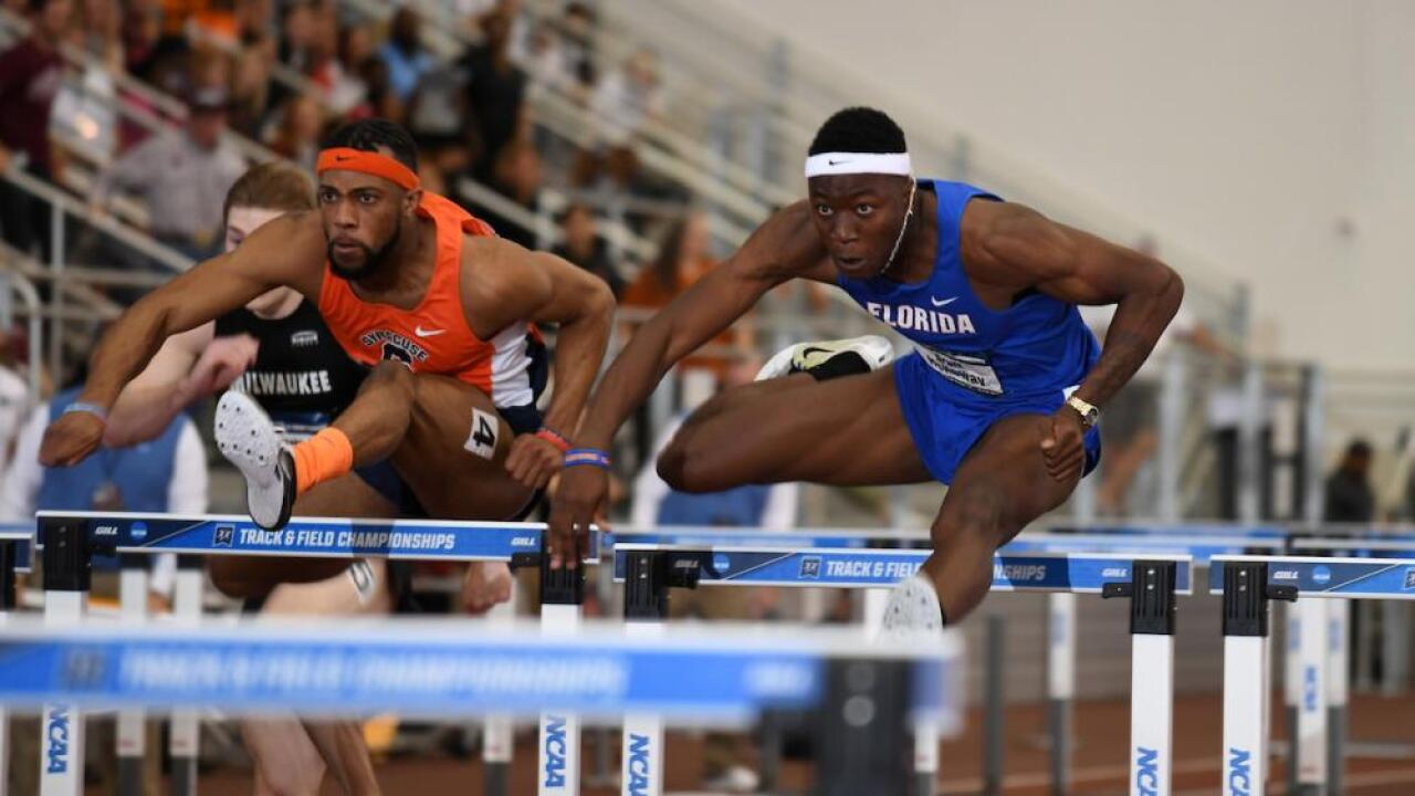 Chesapeake native Grant Holloway makes history in dominant performance at SEC Indoors Championships