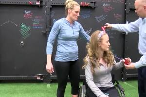 First twice paralyzed woman to climb Mt. Kilimanjaro lives and trains in the Flathead