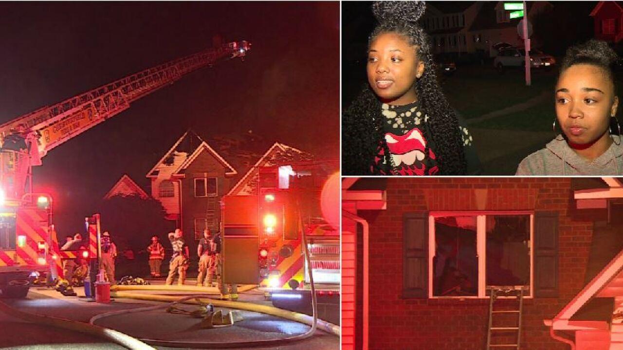 Women help neighbors escape burning Chesterfieldhome