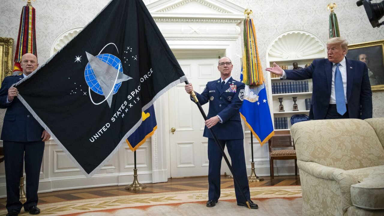 US Space Force US Space Command - AP