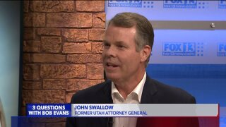 3 Questions with Bob Evans: Former Utah Attorney General John Swallow