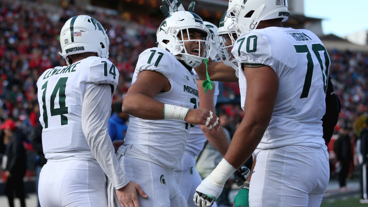 Heyward scores 2 TDs as MSU beats Maryland