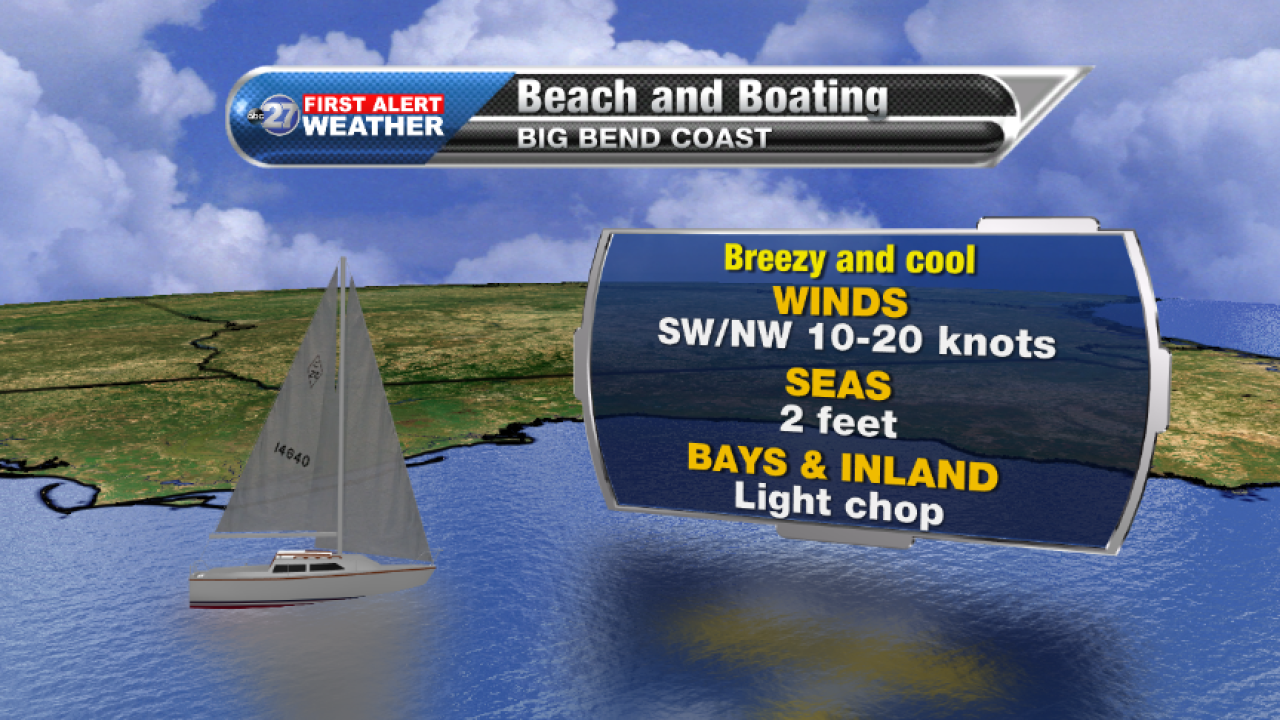 Beach and Boating forecast A (12/06/2017)