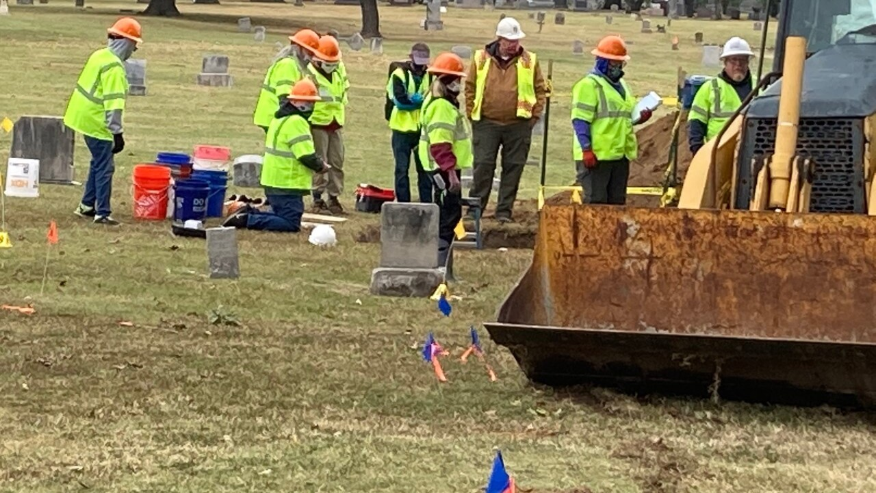 Day two of the second excavation in the 1921 Tulsa Race Massacre Graves Investigation