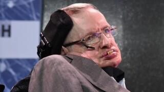 Scientist Stephen Hawking dead at age 76
