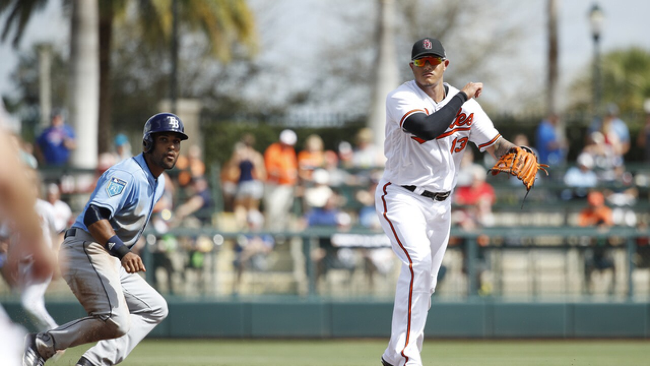 Orioles lose to Rays in exhibition opener