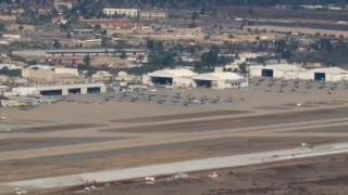 Two Miramar jets collide
