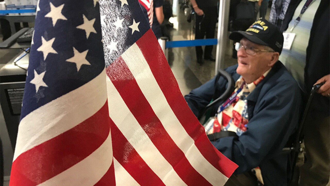 Military vets take off for 'Tour of Honor'