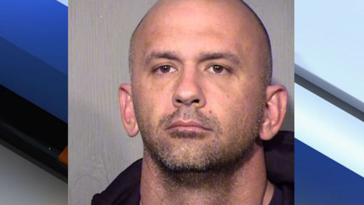 PD: Phoenix firefighter accused of theft, arson