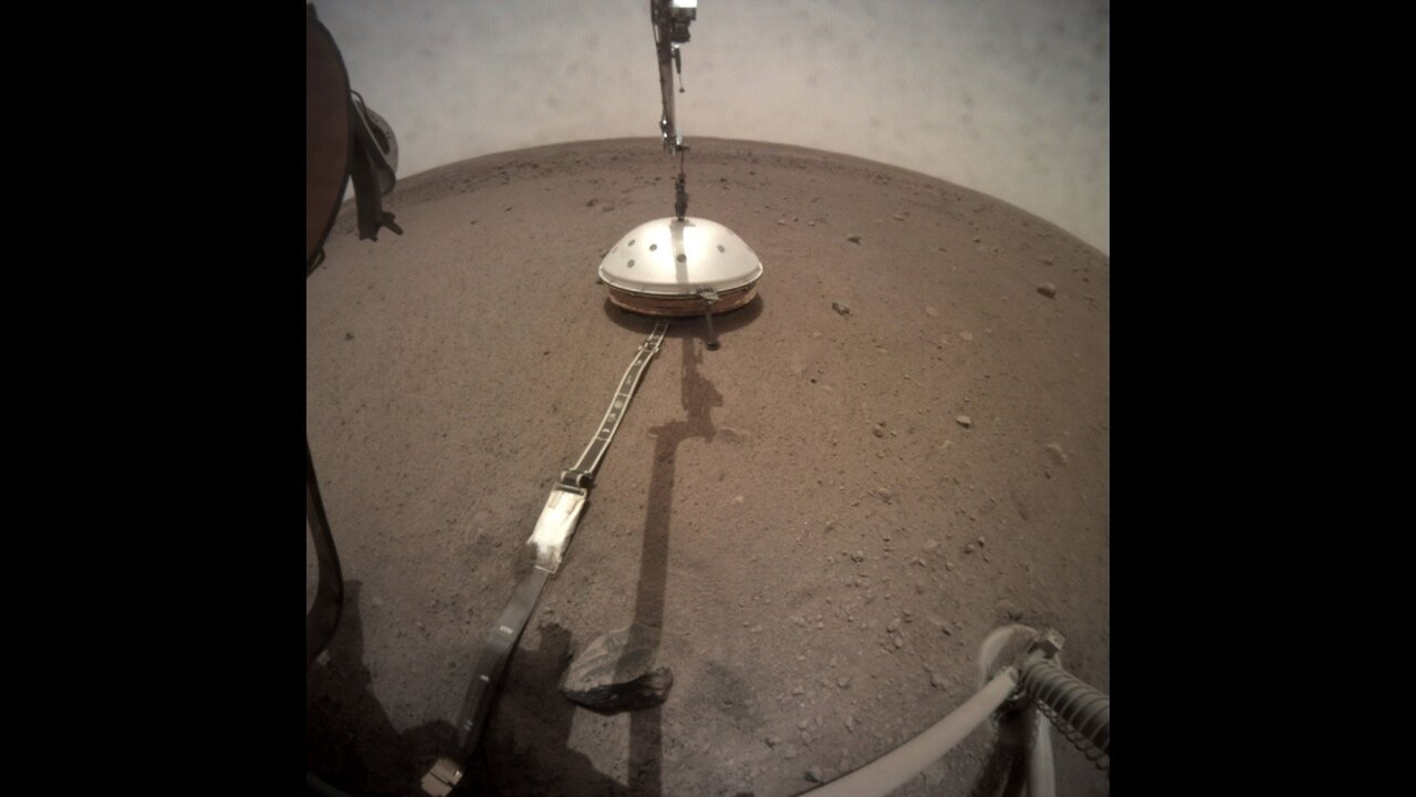 A dust devil passed over NASA's lander on Mars