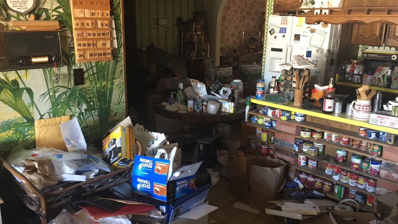 The Njus' home was burglarized 11 times between Halloween and Thanksgiving