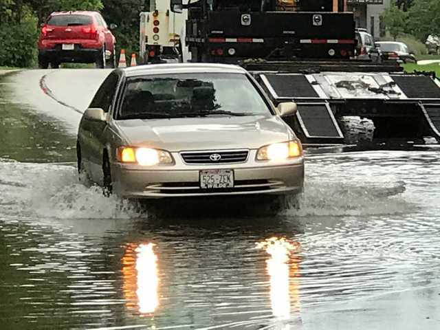 Yet another round of rain drenches Milwaukee [PHOTOS]