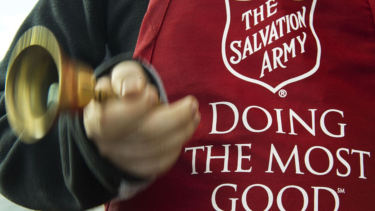 Salvation Army in desperate need of Red Kettle bell ringers in HamptonRoads