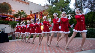 December Nights welcome holidays in Balboa Park