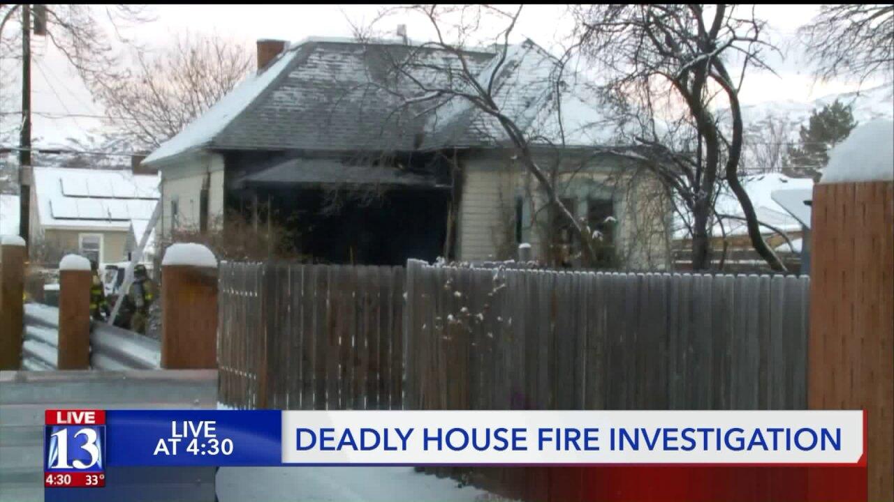 Salt Lake City man dies in housefire