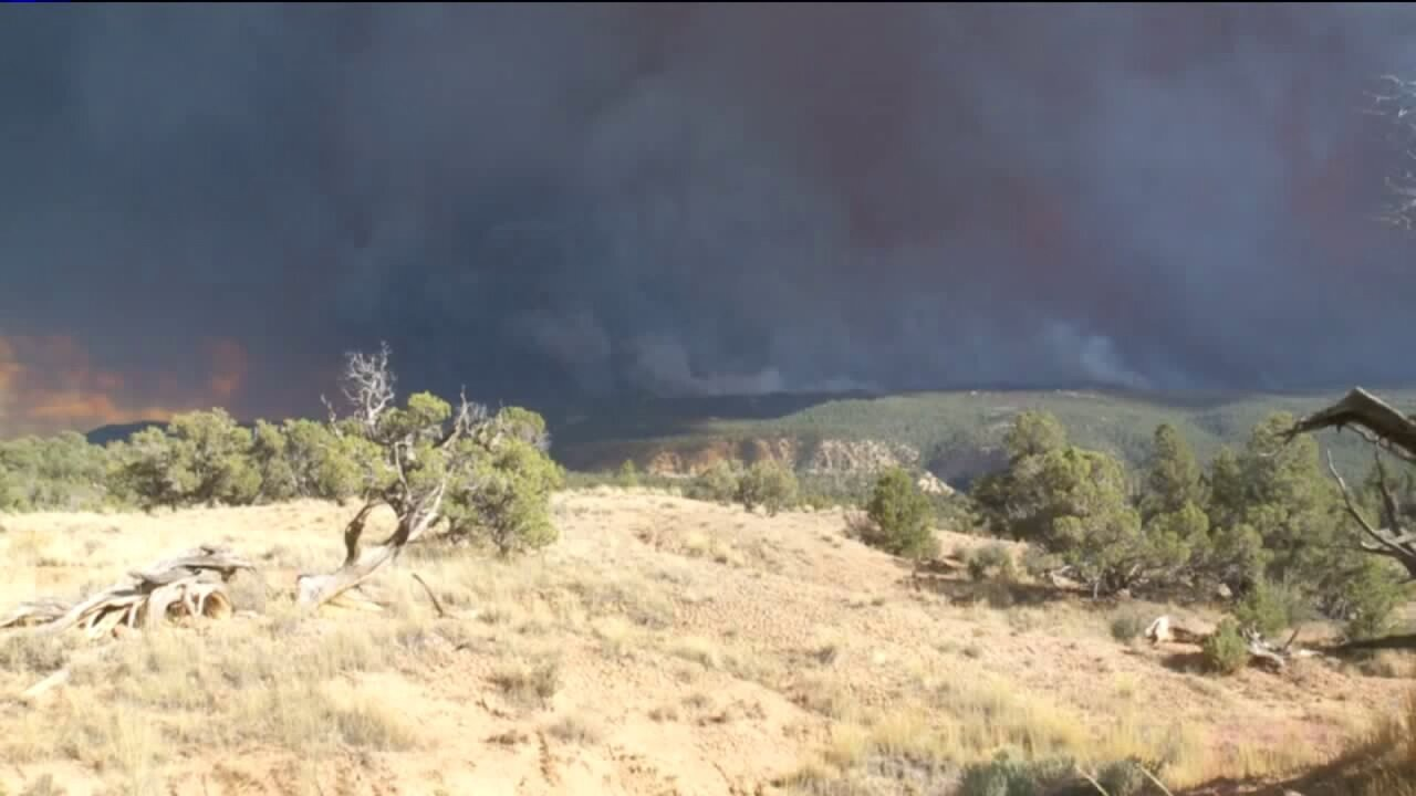 Dollar Ridge Fire forces more evacuations, 'dozens' of buildings destroyed