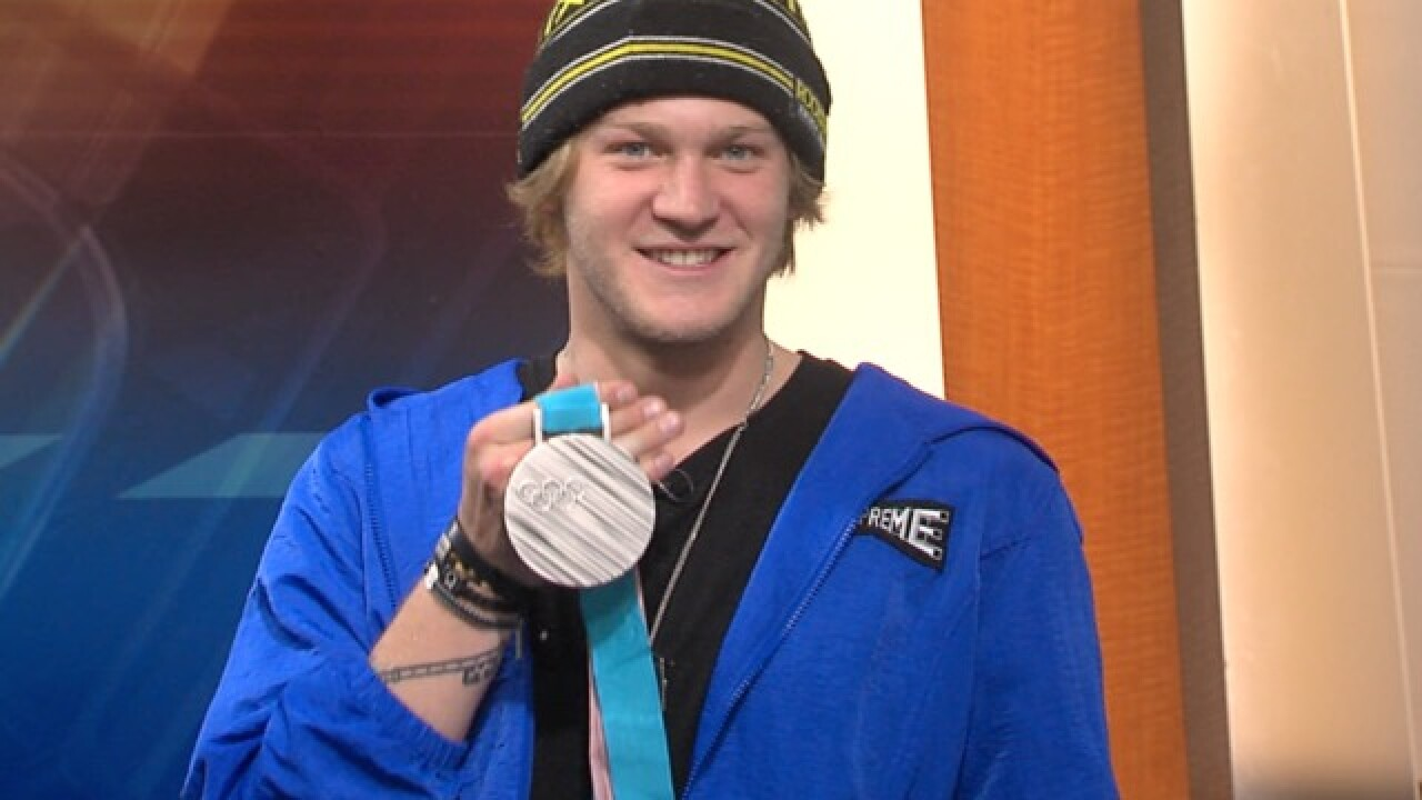 Olympic silver medalist Kyle Mack back home for celebration West Bloomfield