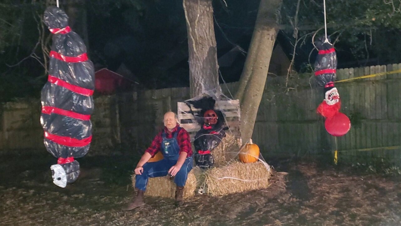 Virginia Halloween display called racially offensive: 'It is not funny, and it hurts'