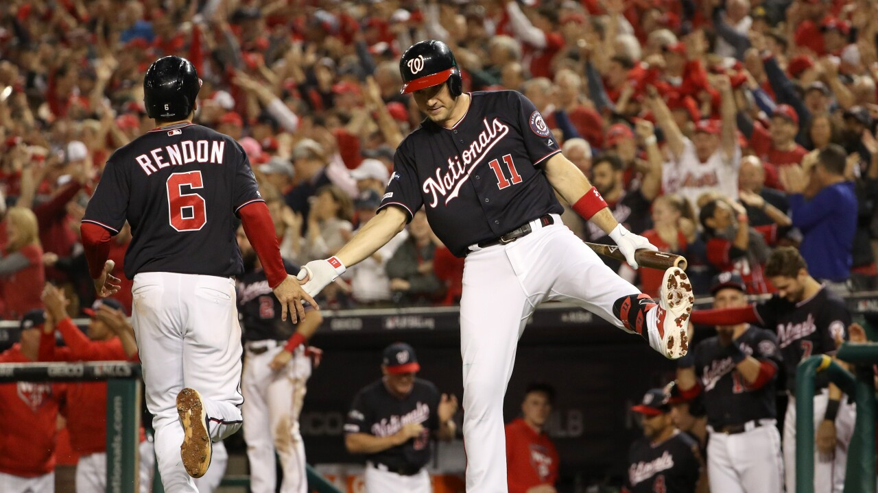 Nationals one win away from a trip to the World Series, take 3-0 series lead inNLCS
