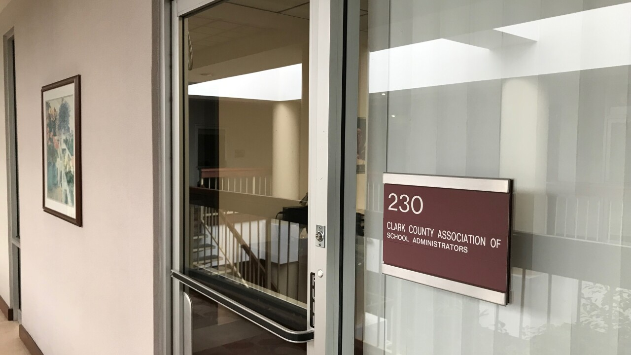 The Clark County Association of School Administrators and Professional-Technical Employees office as seen on Monday June 10, 2019