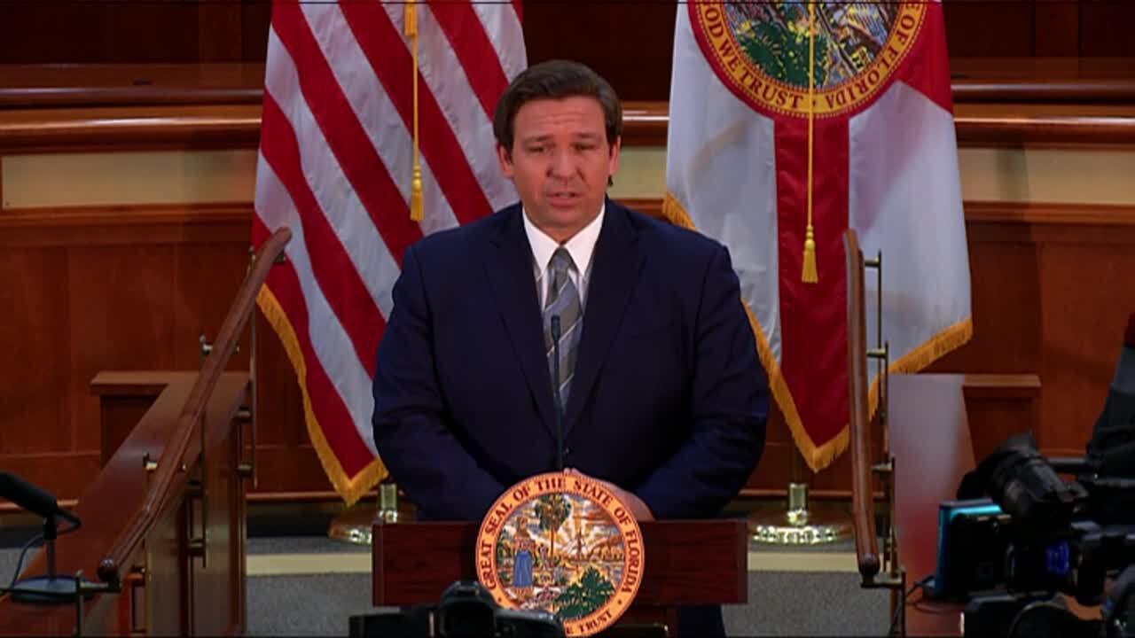 Gov. Ron DeSantis announces Jamie Grosshans as next Florida Supreme Court justice, Sept. 14, 2020