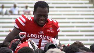 STM's Wallace Competing for Safety Spot With Cajuns