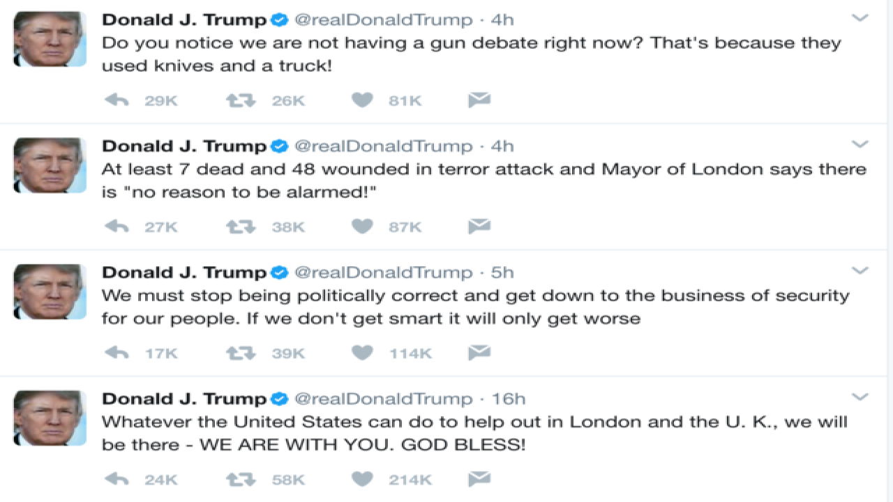 DC Daily: London mayor has no time for Trump