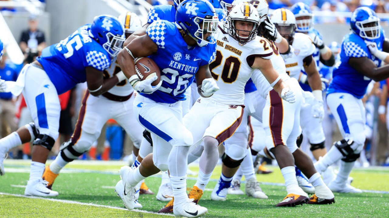Kentucky overcomes four turnovers, beats Central Michigan