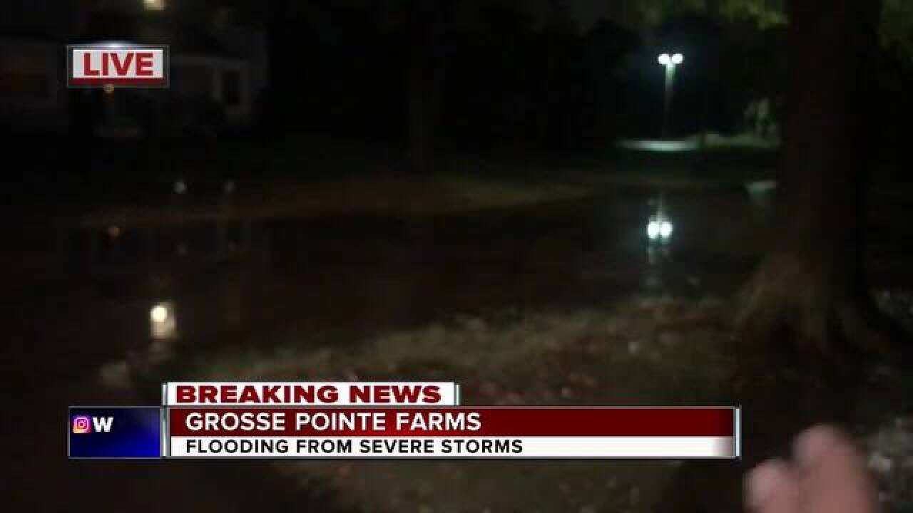 Damage, flooding reported in wake of storms