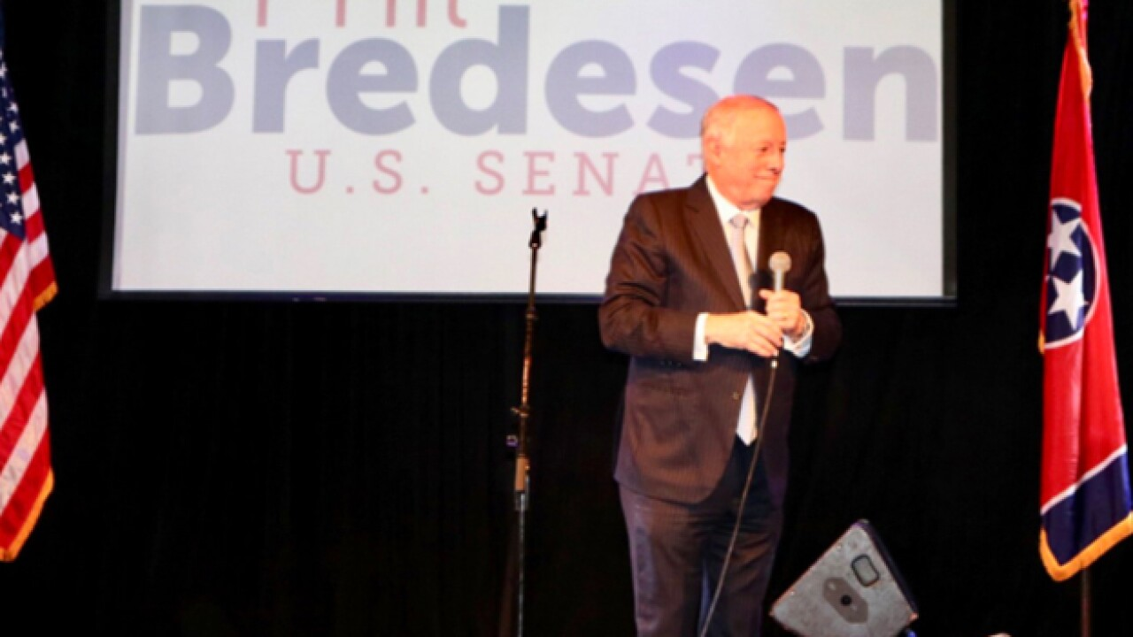 Bredesen holds early voting rally