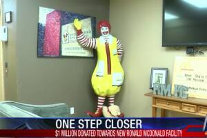 Local McDonald's owners commit $1M for bigger RMHCSTX home for families with sick children